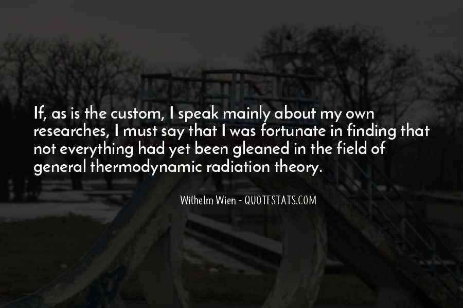 Wilhelm Wien Quotes #1434282