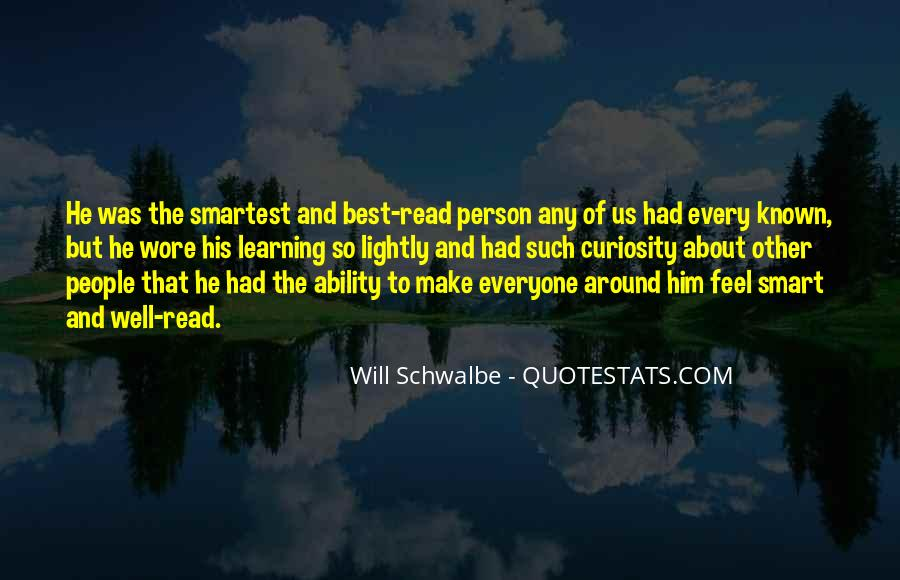 Will Schwalbe Quotes #172832