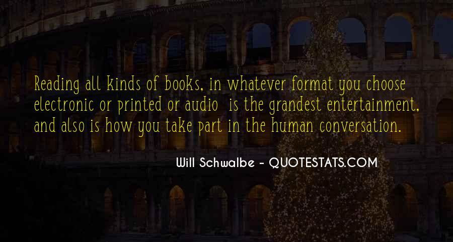 Will Schwalbe Quotes #1861136