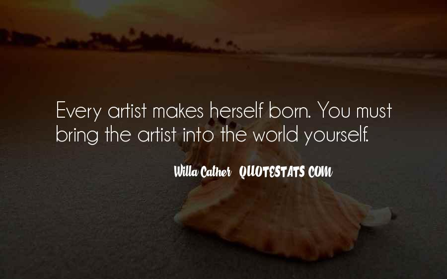 Willa Cather Quotes #1268335