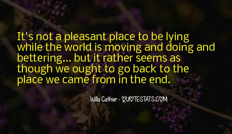Willa Cather Quotes #1503996