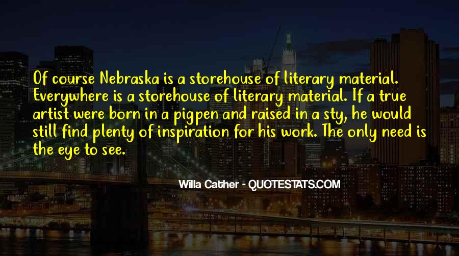 Willa Cather Quotes #177214