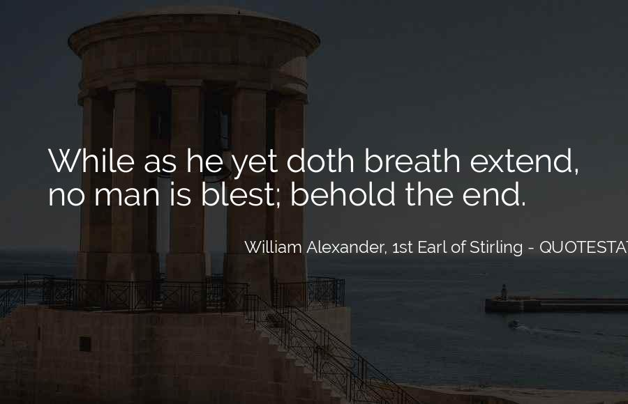 William Alexander, 1st Earl Of Stirling Quotes #244417