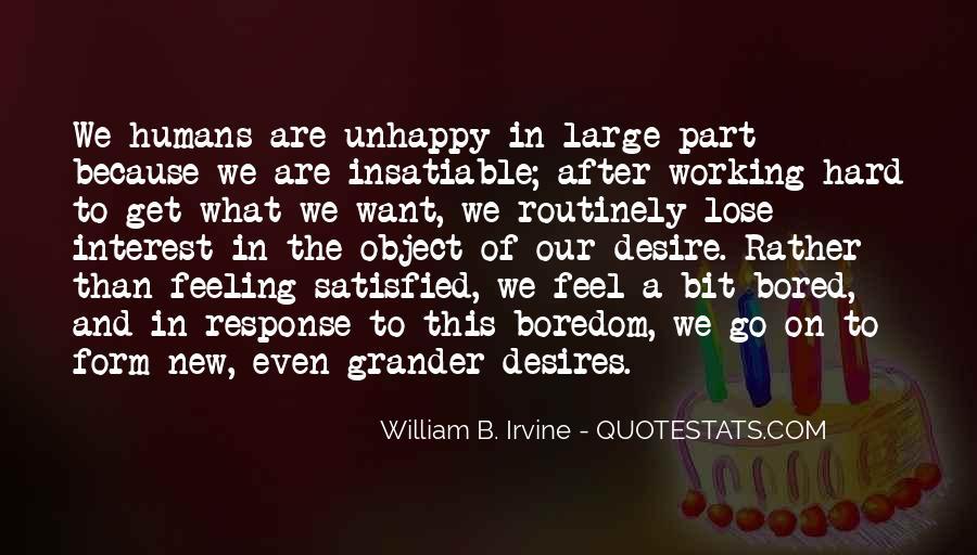 William B. Irvine Quotes #24568