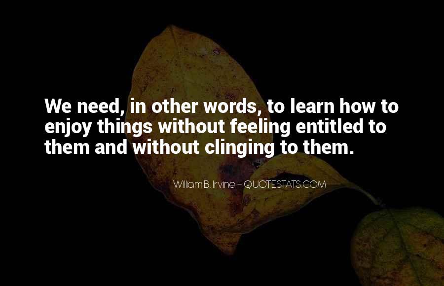 William B. Irvine Quotes #313222