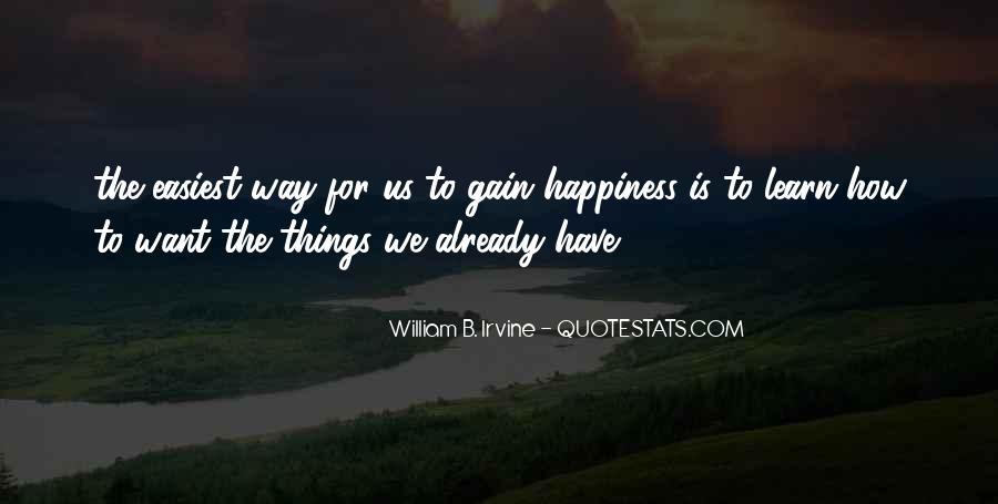 William B. Irvine Quotes #838106