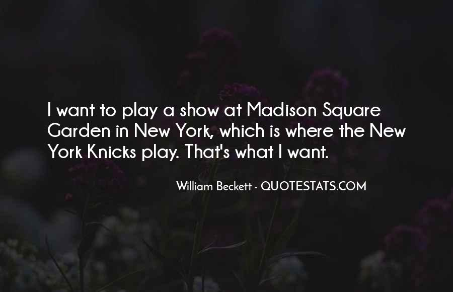 William Beckett Quotes #168307