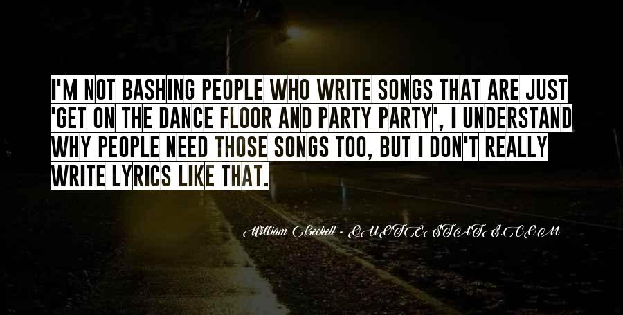 William Beckett Quotes #1851711