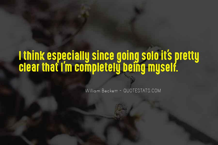 William Beckett Quotes #952832