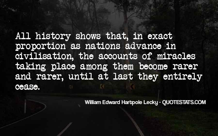 William Edward Hartpole Lecky Quotes #1089881