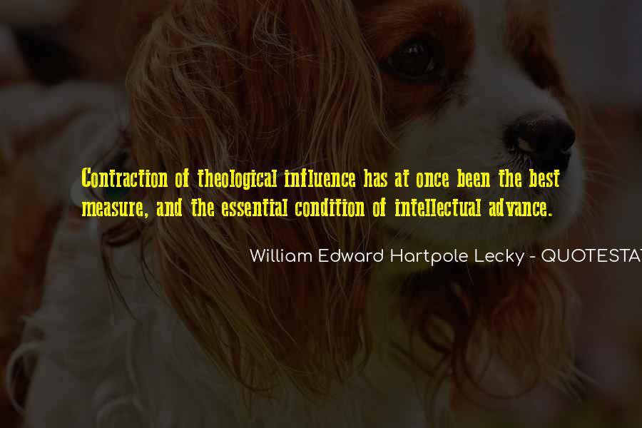 William Edward Hartpole Lecky Quotes #1353316