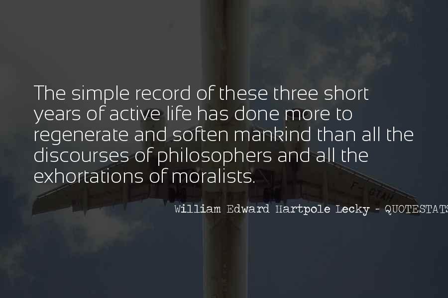 William Edward Hartpole Lecky Quotes #162275