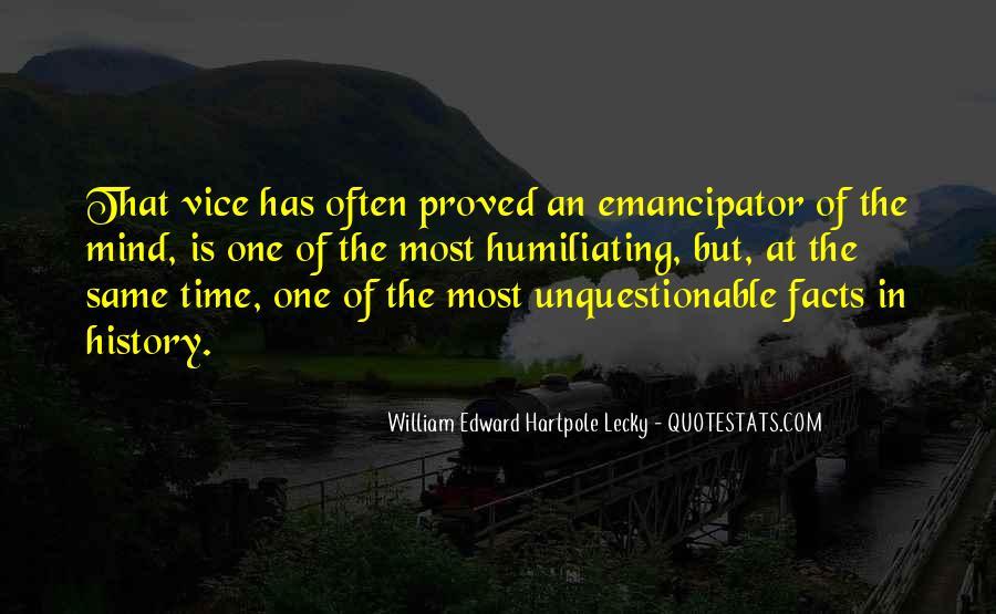 William Edward Hartpole Lecky Quotes #1637382