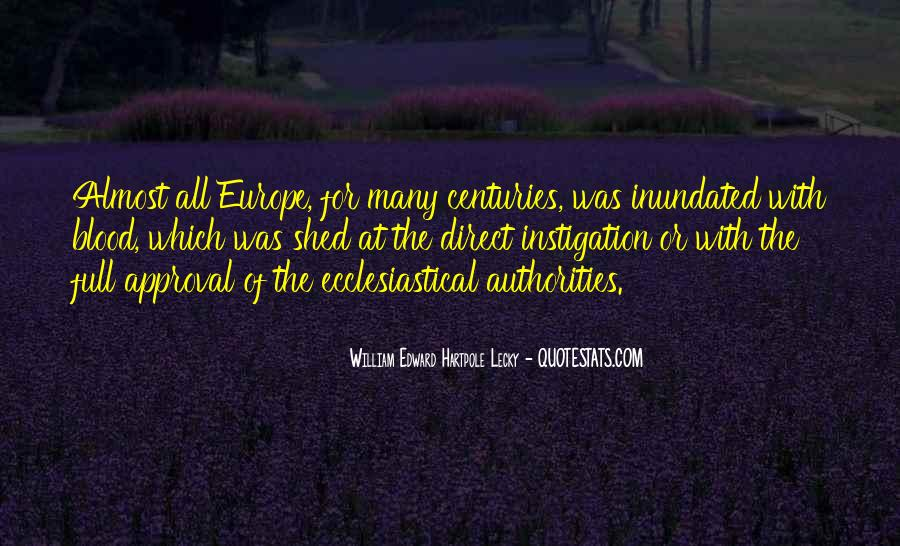 William Edward Hartpole Lecky Quotes #1712616