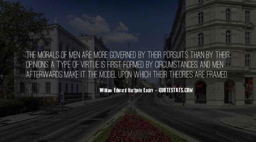 William Edward Hartpole Lecky Quotes #77181