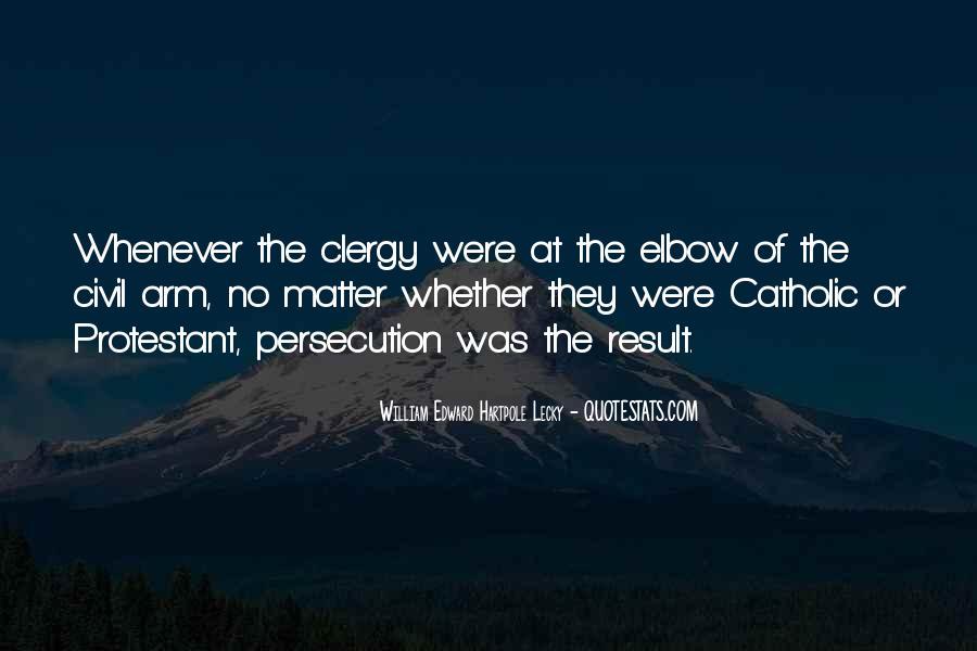 William Edward Hartpole Lecky Quotes #850341