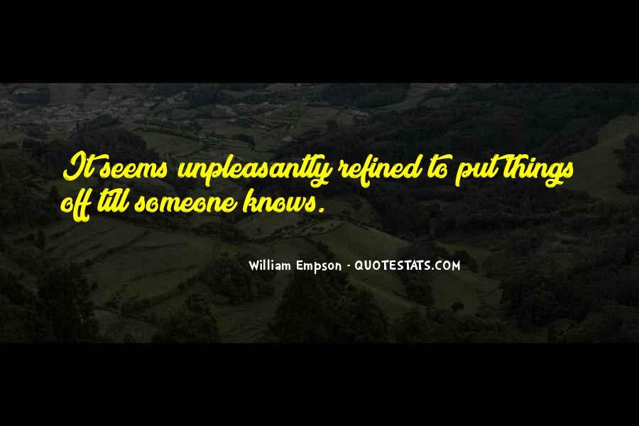William Empson Quotes #1219186
