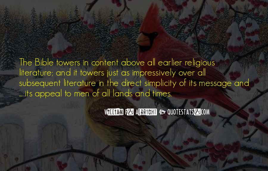 William F. Albright Quotes #649312
