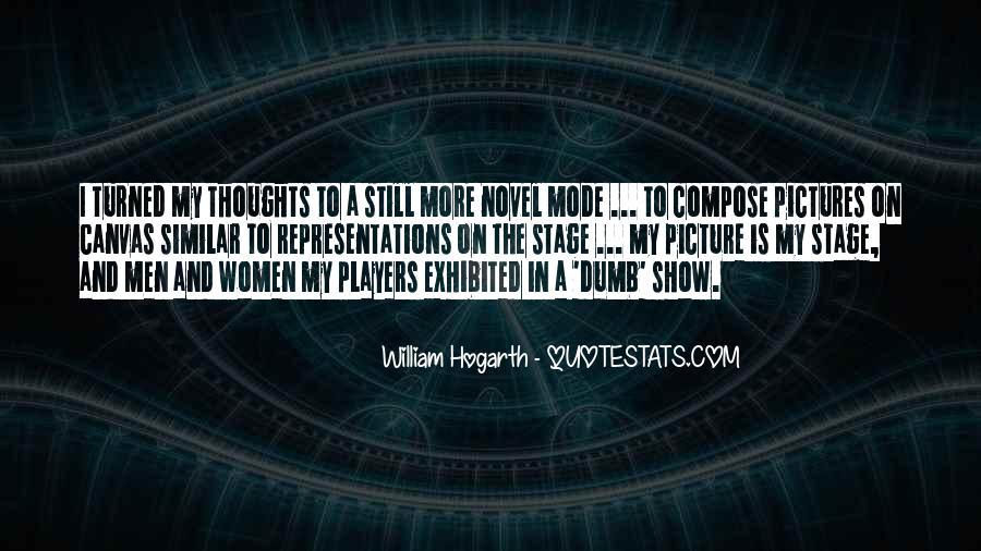 William Hogarth Quotes #653656