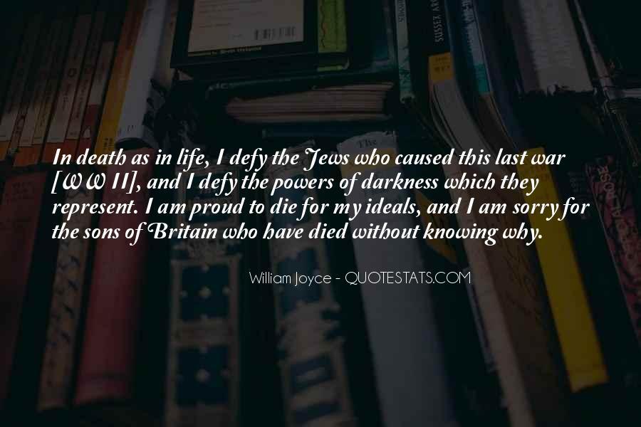 William Joyce Quotes #1804311