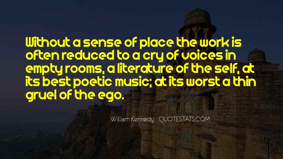 William Kennedy Quotes #1139739