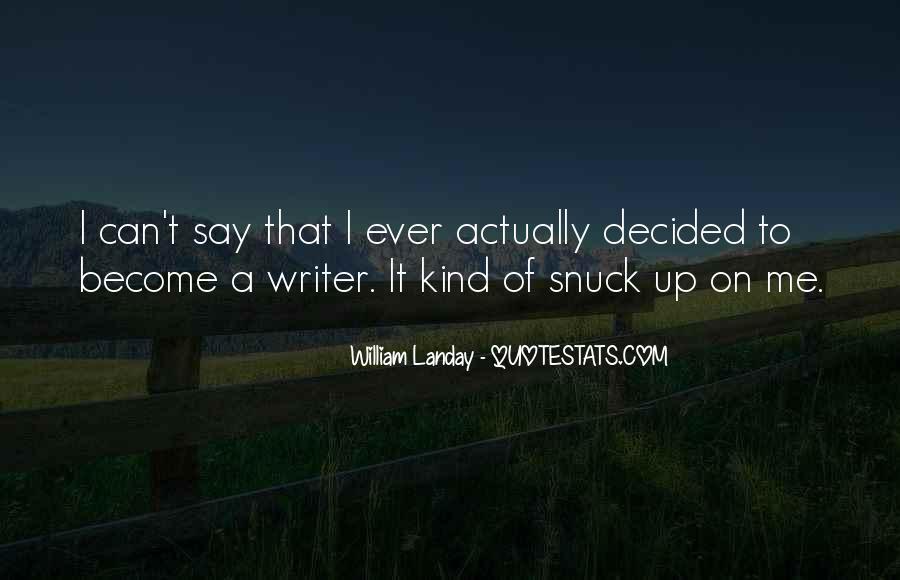 William Landay Quotes #1457368