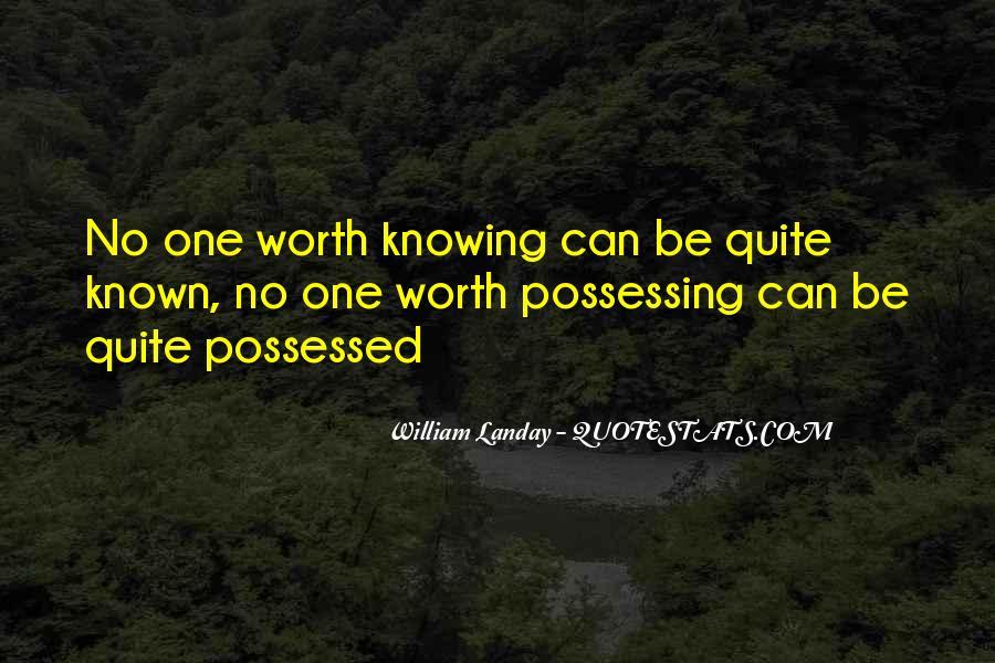 William Landay Quotes #484505