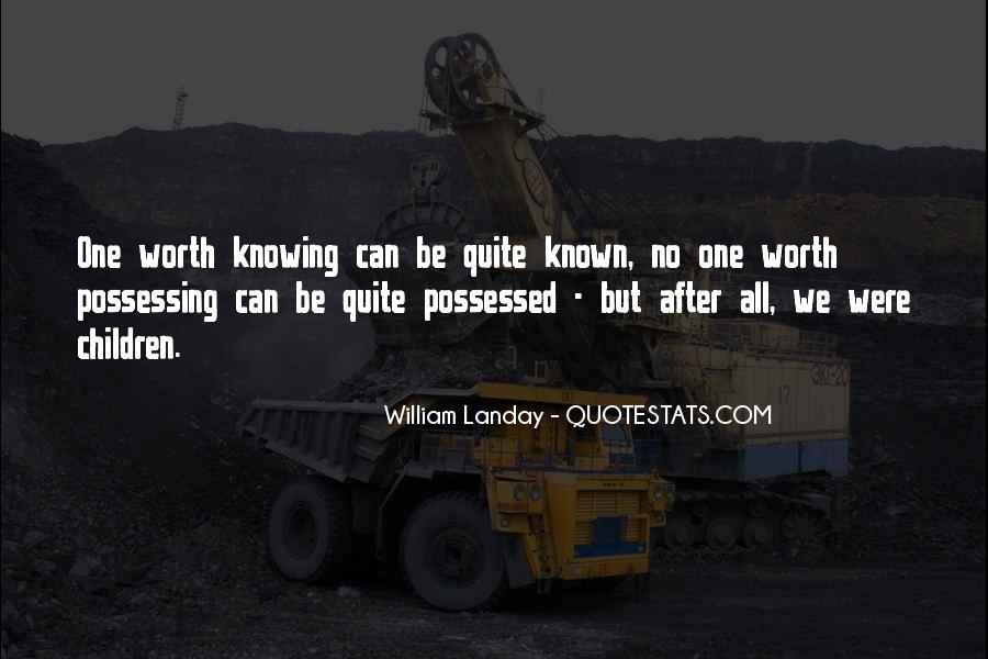 William Landay Quotes #486988