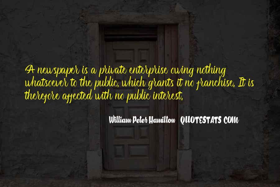 William Peter Hamilton Quotes #1337560
