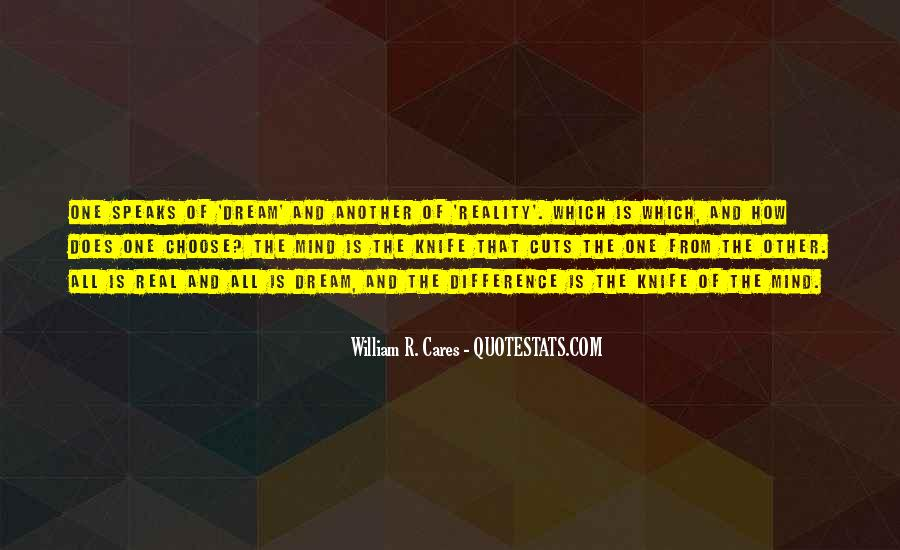 William R. Cares Quotes #1474444