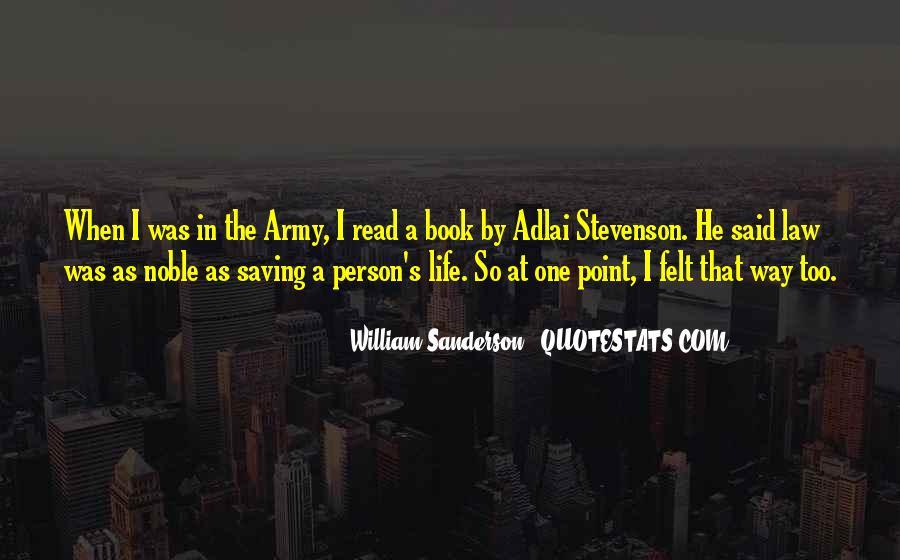 William Sanderson Quotes #365293