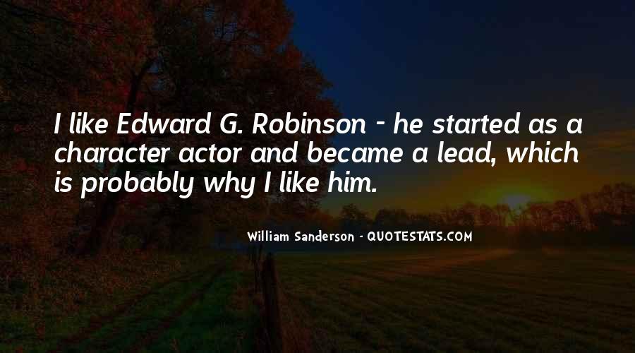 William Sanderson Quotes #371072