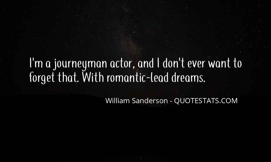 William Sanderson Quotes #494112