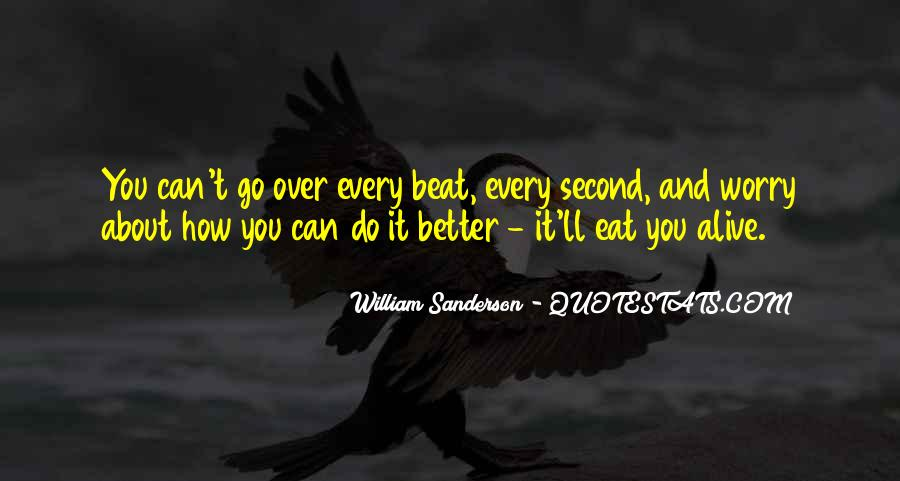 William Sanderson Quotes #577293