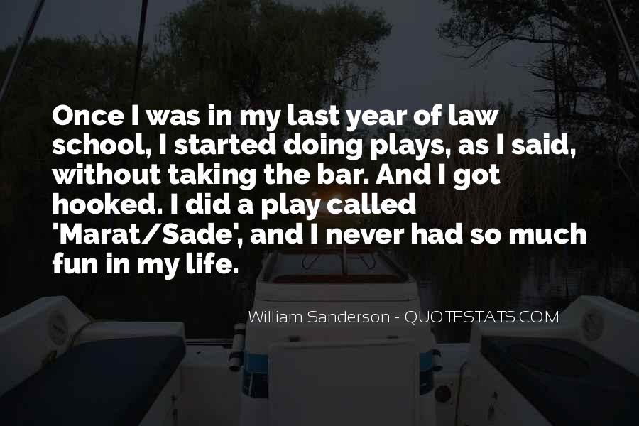 William Sanderson Quotes #856700