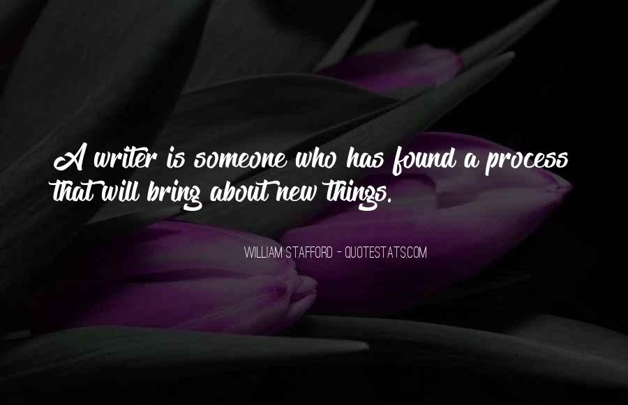 William Stafford Quotes #100558