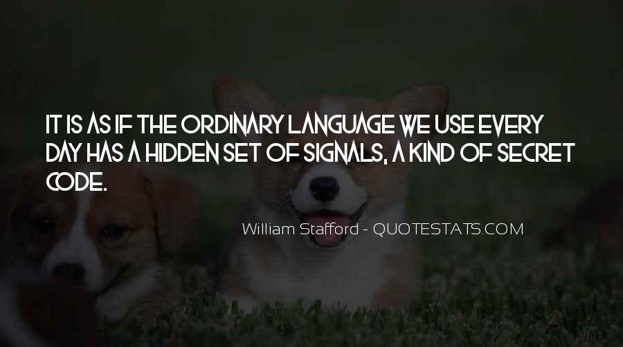 William Stafford Quotes #1525508