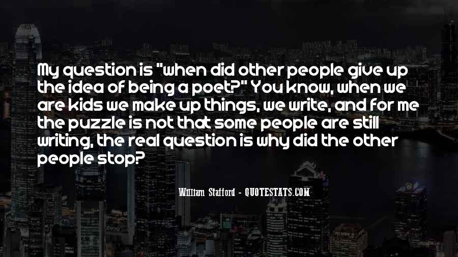 William Stafford Quotes #1574404