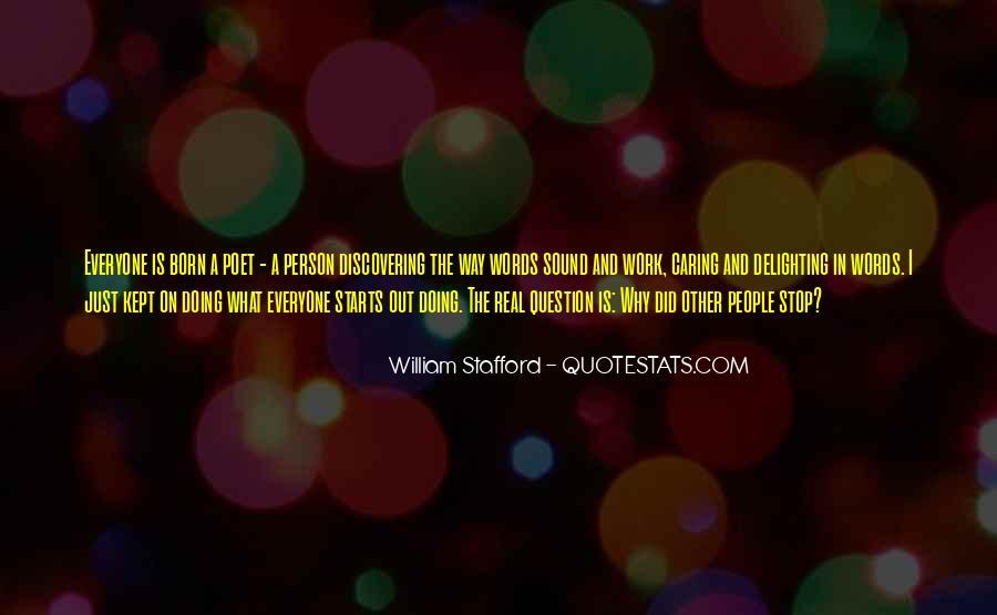 William Stafford Quotes #325237