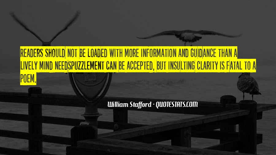 William Stafford Quotes #357595
