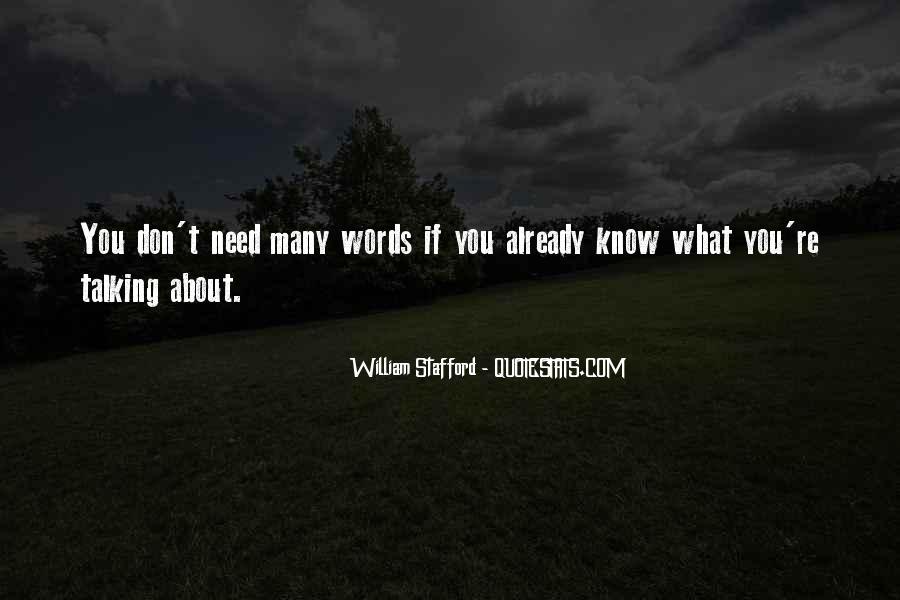 William Stafford Quotes #819846