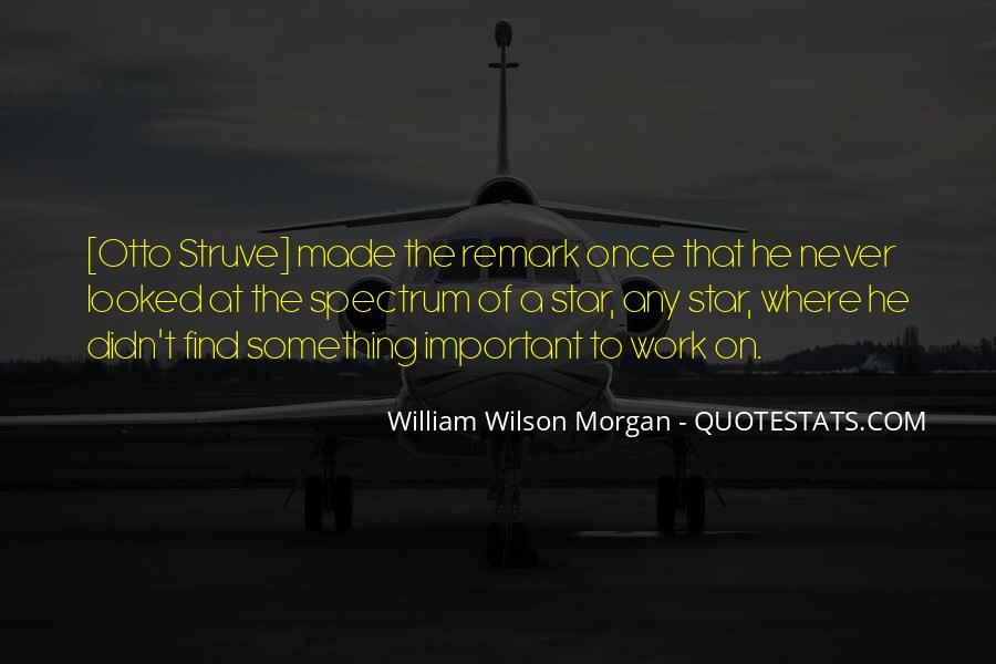 William Wilson Morgan Quotes #331044