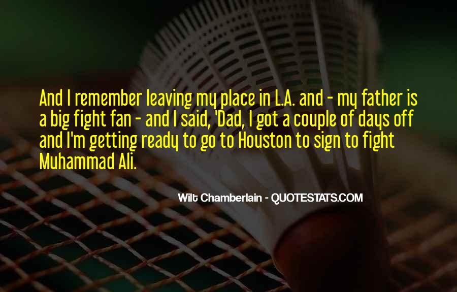 Wilt Chamberlain Quotes #1043580
