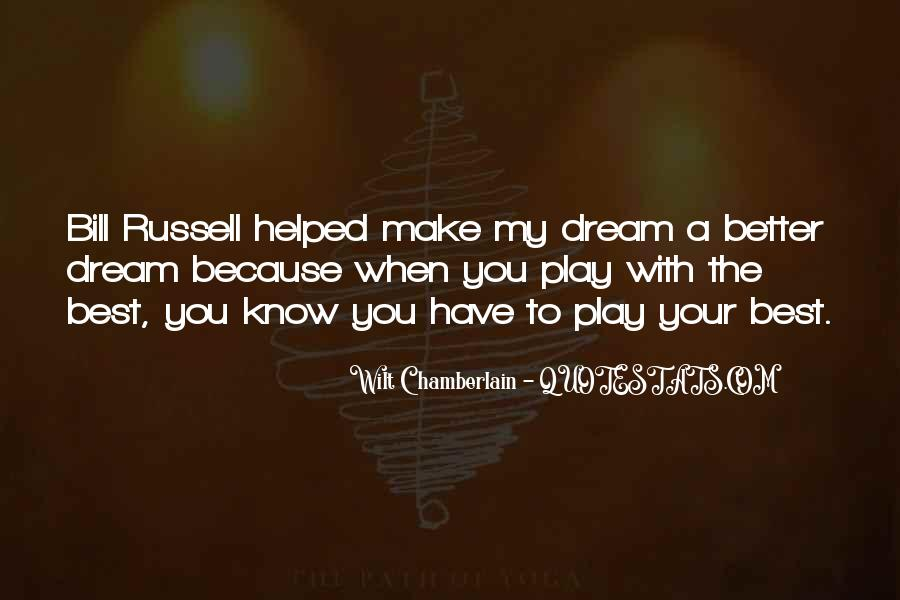Wilt Chamberlain Quotes #1310195