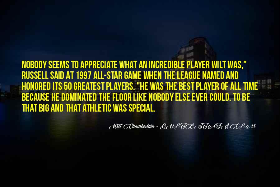Wilt Chamberlain Quotes #1448706