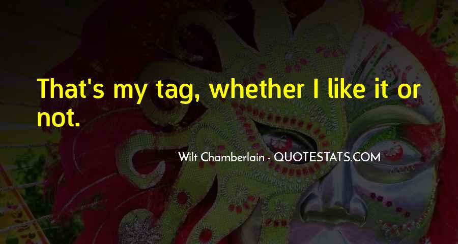 Wilt Chamberlain Quotes #1486264