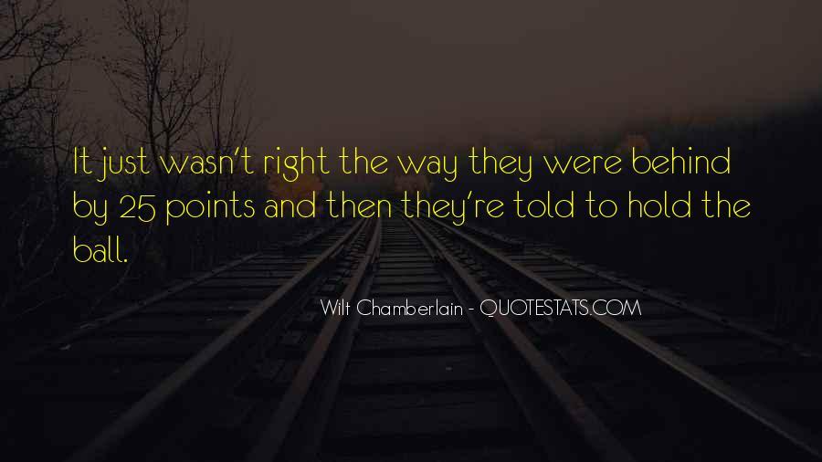 Wilt Chamberlain Quotes #1486424