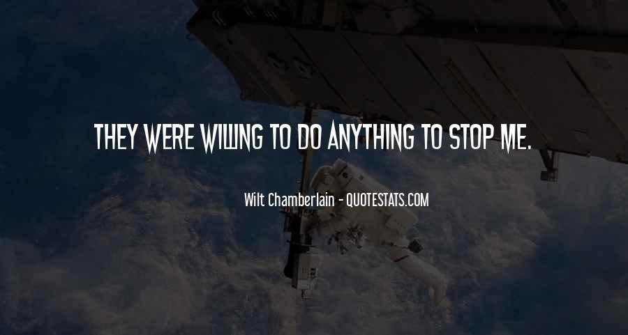 Wilt Chamberlain Quotes #1613783