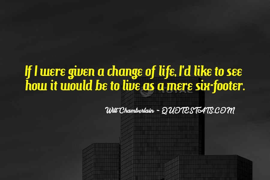 Wilt Chamberlain Quotes #1665510