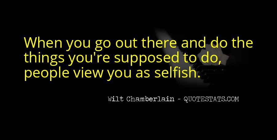 Wilt Chamberlain Quotes #1753560